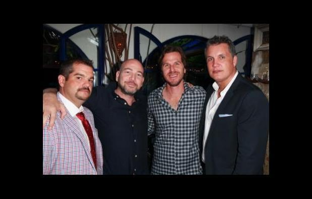 IM Global's Jonathan Deckter, Square One's Al Munteanu, director Breck Eisner and IM Global's Stuart Ford